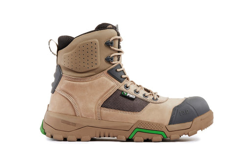 FXD WB-1 Safety Work Boot - STONE