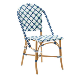 Sofie Caféstol - Starweave Salvie with Navy - Sika-Design