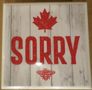 Lyall's Art & Design Coaster Set - Canada