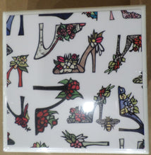 Load image into Gallery viewer, Lyall's Art & Design Coaster Set - Shoes