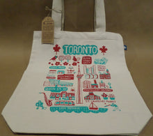 Load image into Gallery viewer, Toronto Cityscape Tote Bag