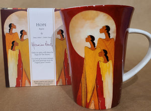 Fine Porcelain Mug - Hope