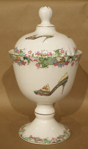 Fine Bone China Canister