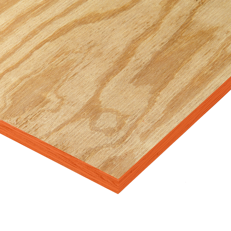 "3/4"" Ext. Plyform (Construction Plywood)"