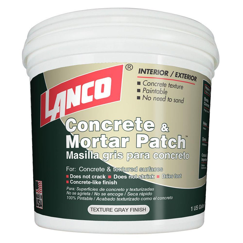 Lanco Concrete and Mortar Patch (Quart)