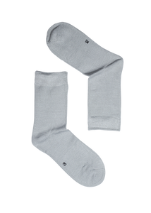 Light Grey Bamboo Socks (Men)