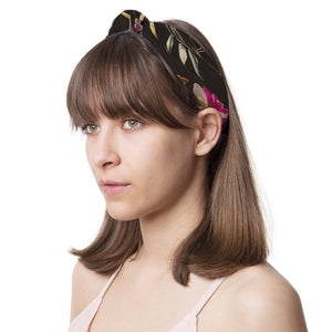Dark Botanical Headband