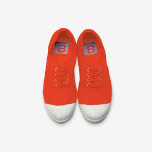 Lace Women Sneakers Red