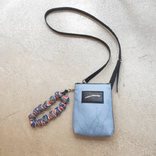 Load image into Gallery viewer, Sara Blue/Black Bag