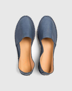 Arven DS Leather Espadrilles Blue
