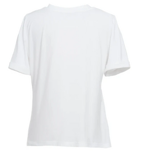 MARCALI Duplex Embroidery T-Shirt