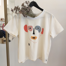 Load image into Gallery viewer, Abstract Face T-shirt