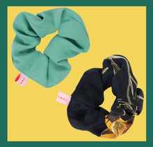 Load image into Gallery viewer, Lucky Botanical Scrunchy / 2 Pieces
