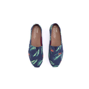 Navy Canvas Birds of Paradise