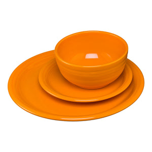 3PC Bistro Place Setting - Butterscotch