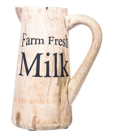 Wooden Milk Pitcher