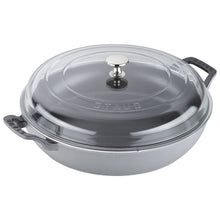 Load image into Gallery viewer, Staub Braiser with Glass Lid