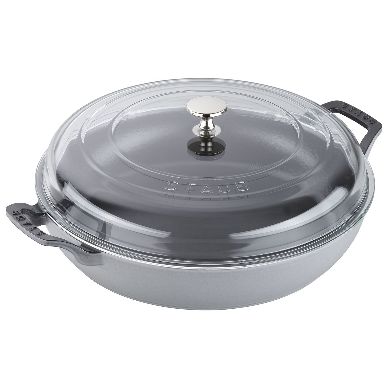 Staub Braiser with Glass Lid