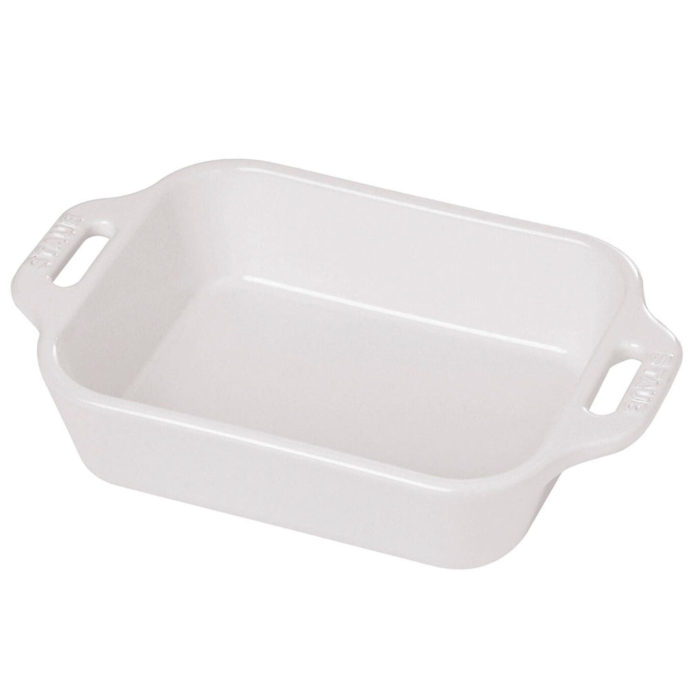 9x13 Baking Dish - White
