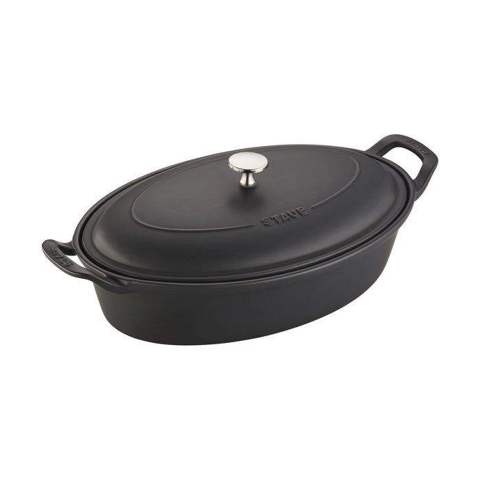 Staub Oval Covered Baking Dish