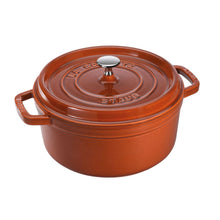 Load image into Gallery viewer, 4-QT ROUND COCOTTE MAJOLIQUE COLORS