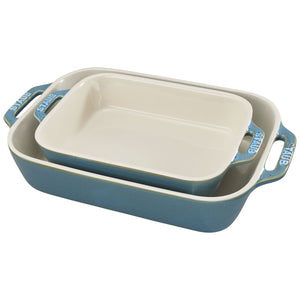 2pc Staub Baking Dish Set