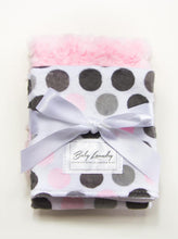 Load image into Gallery viewer, Pink Burp Cloth Set
