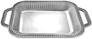 Flutes & Pearls Serving Tray