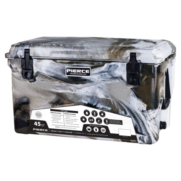 45qt Pierce Cooler - Desert Camo