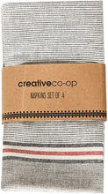Load image into Gallery viewer, Set/4 Chambray Napkin