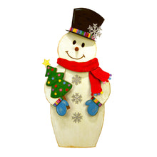 Load image into Gallery viewer, Top Hat Snowman