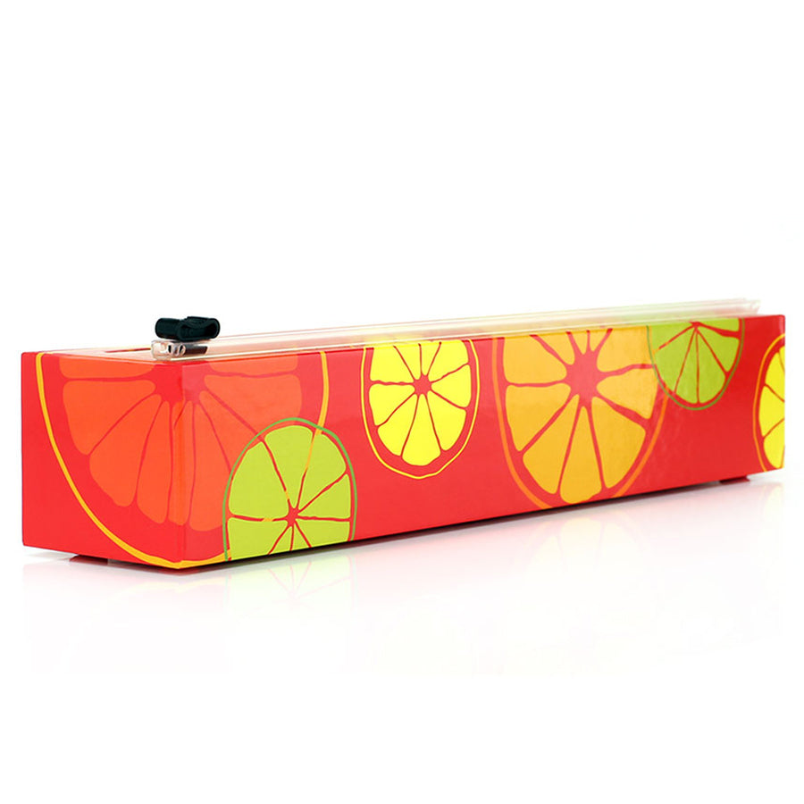 Plastic Wrap Dispenser - Citrus