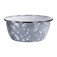 Load image into Gallery viewer, 4pc Enamel Salad Bowl Set - Grey