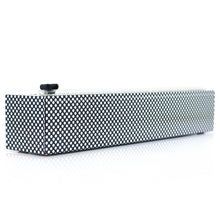 Load image into Gallery viewer, Plastic Wrap Dispenser - Silver Dots