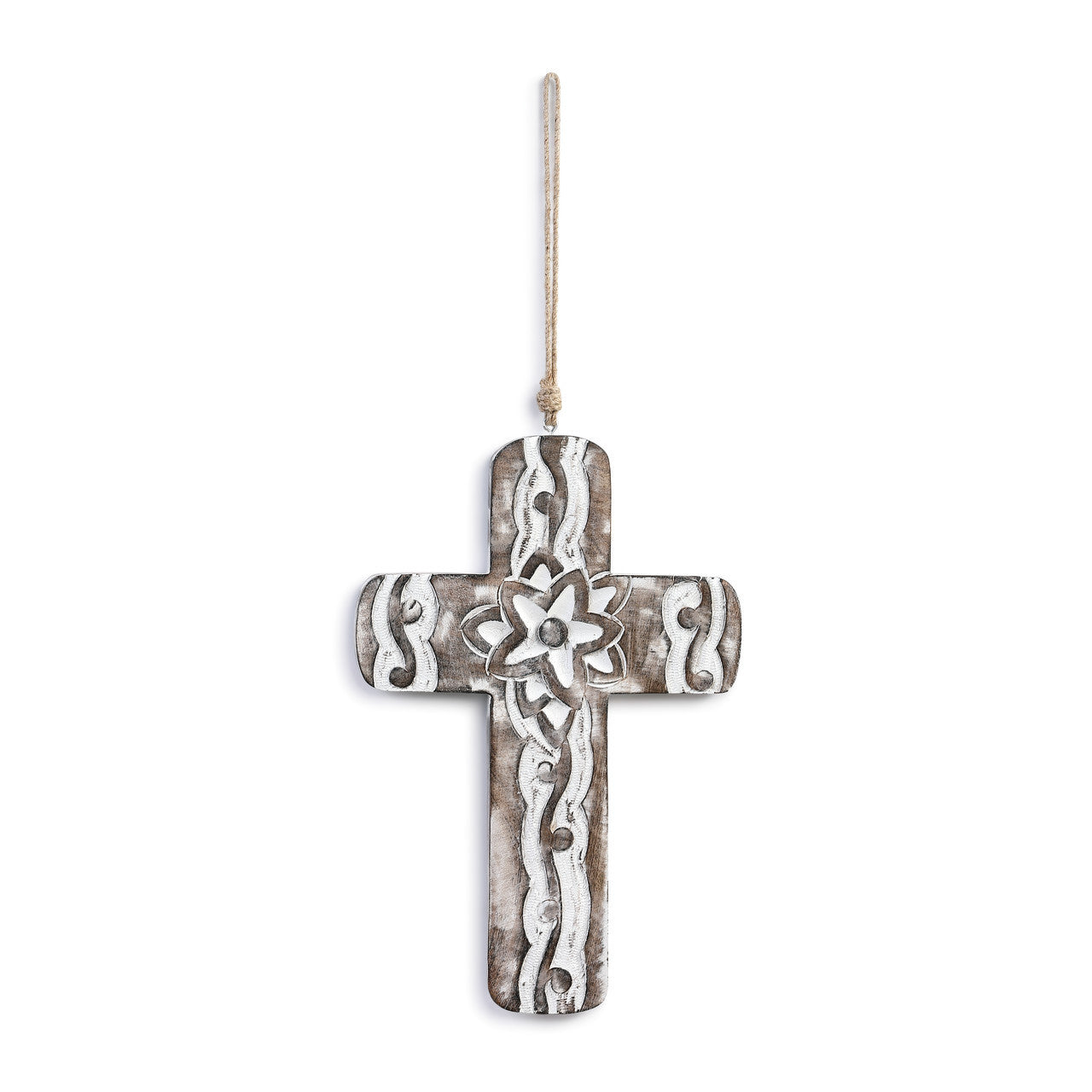 Hanging Wood Cross