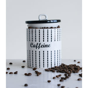 """Caffeine"" Canister"