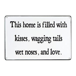 Wet Noses & Love Sign