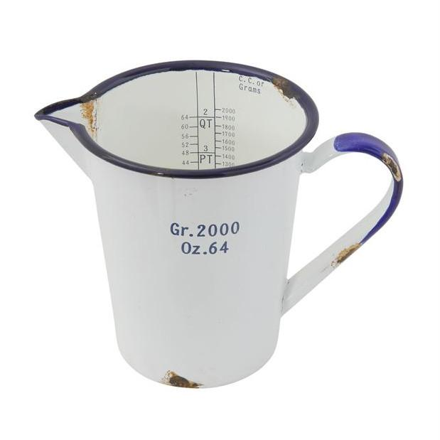 Enamel Measuring Pitcher