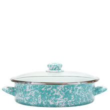 Load image into Gallery viewer, Large Sauté Pan - Turquoise