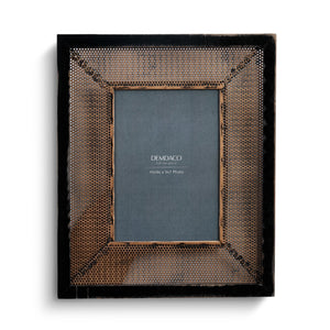 5x7 Gold Tin Picture Frame