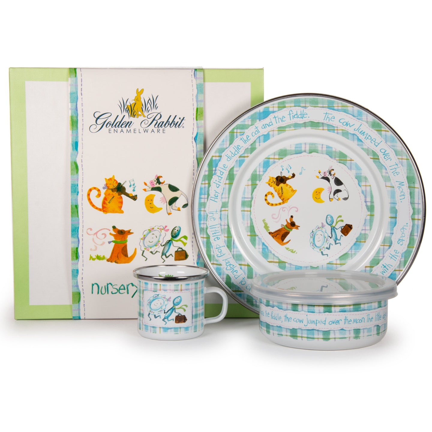Child Nursery Rhyme Plate