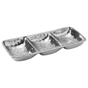 Aluminum Three Section Serving Tray