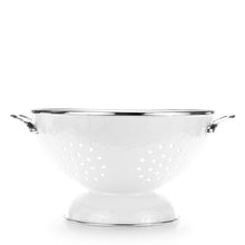 Load image into Gallery viewer, Enamel Colander - White