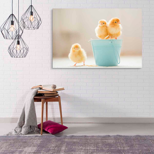 Cuadro Decorativo Little Chickens