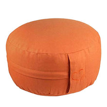 Laden Sie das Bild in den Galerie-Viewer, Yogakissen Meditationskissen BASIC orange H: 15 cm