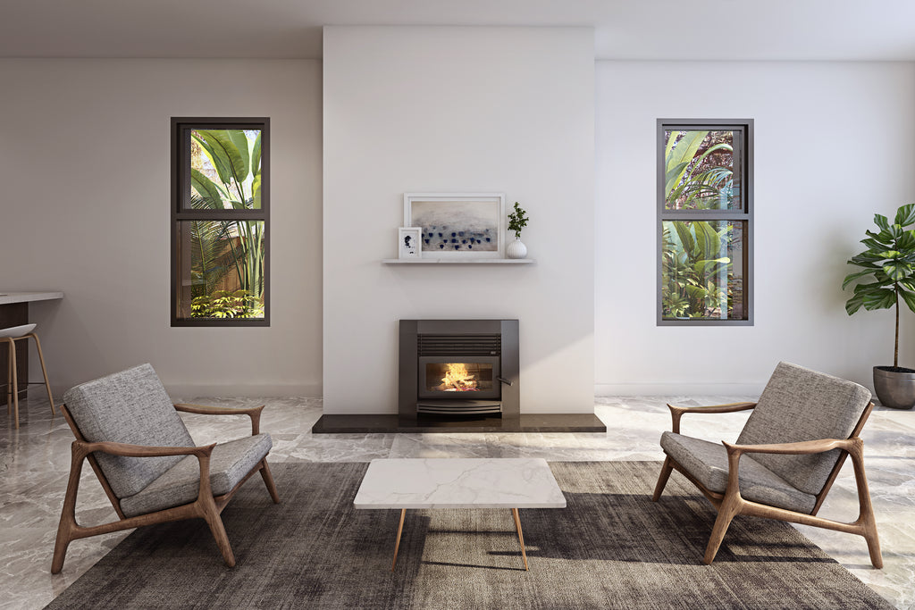 Jayline IS550 Insert Wood Fireplace Clean Air Lifestyle