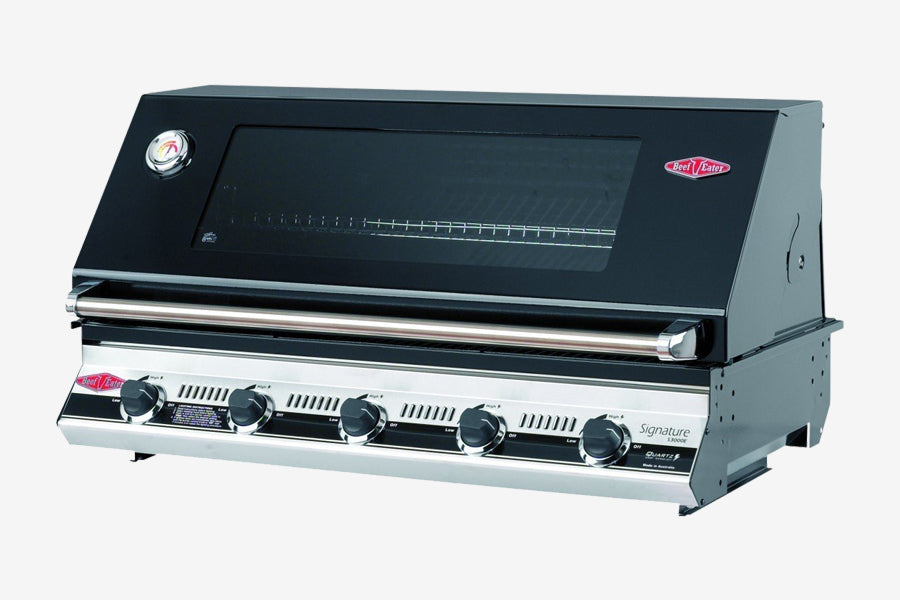 Beefeater Signature 3000E 5 Burner BBQ Built-in Clearcut