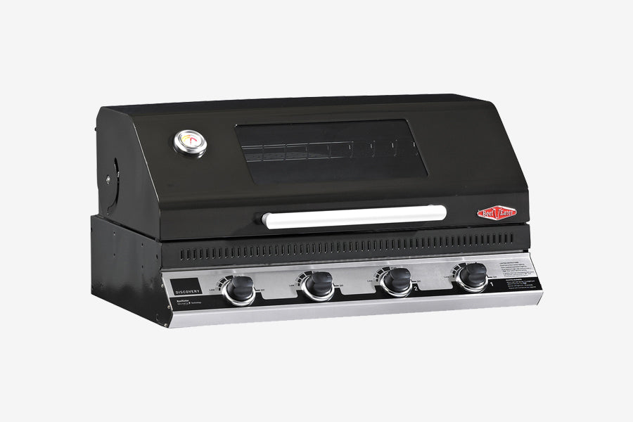 Beefeater Discovery 1100E 4 Burner BBQ Builtin Clearcut