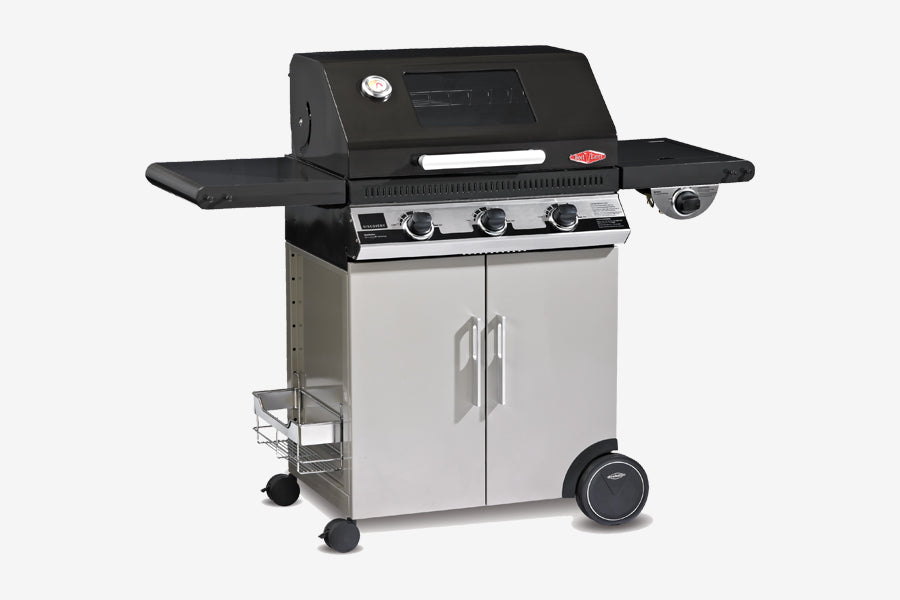 Beefeater Discovery 1100E 3 Burner Mobile BBQ Clearcut