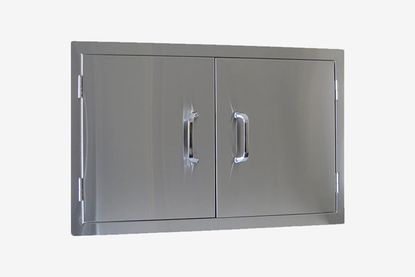 Beefeater Stainless Double Storage Door
